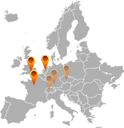 Europe cloud locations